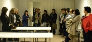 visita centro empresarial en Monzón